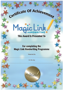 Benefits of using the Magic Link Handwriting Programme in school