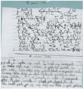 handwriting teacher in the UK