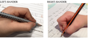 Left and Right hander
